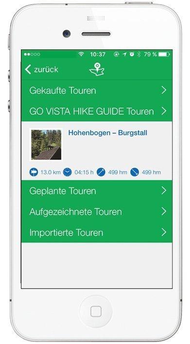 Kompass App - Meine Touren