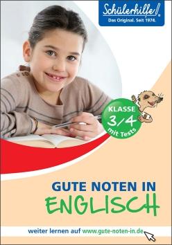 Gute Noten in Englisch, 3./4. Klasse