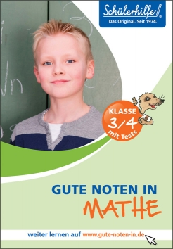 Gute Noten in Mathe, 3./4. Klasse