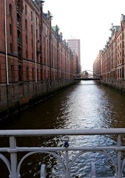 Fleetfahrt durch die Speicherstadt Hamburg