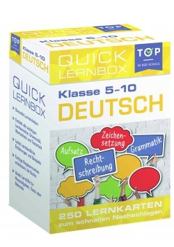 Quick-Lernbox: Deutsch, 5.-10. Klasse