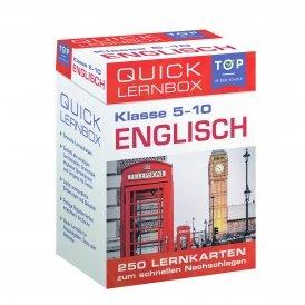 Quick-Lernbox: Englisch, 5.-10. Klasse