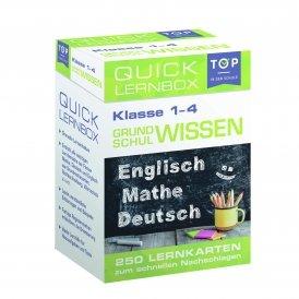 Quick-Lernbox: Grundschulwissen, 1.-4. Klasse