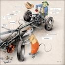 Leseprobe- Ronnie und seine Freunde bauen ein Auto