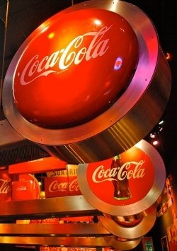 Coca-Cola-Museum in Atlanta