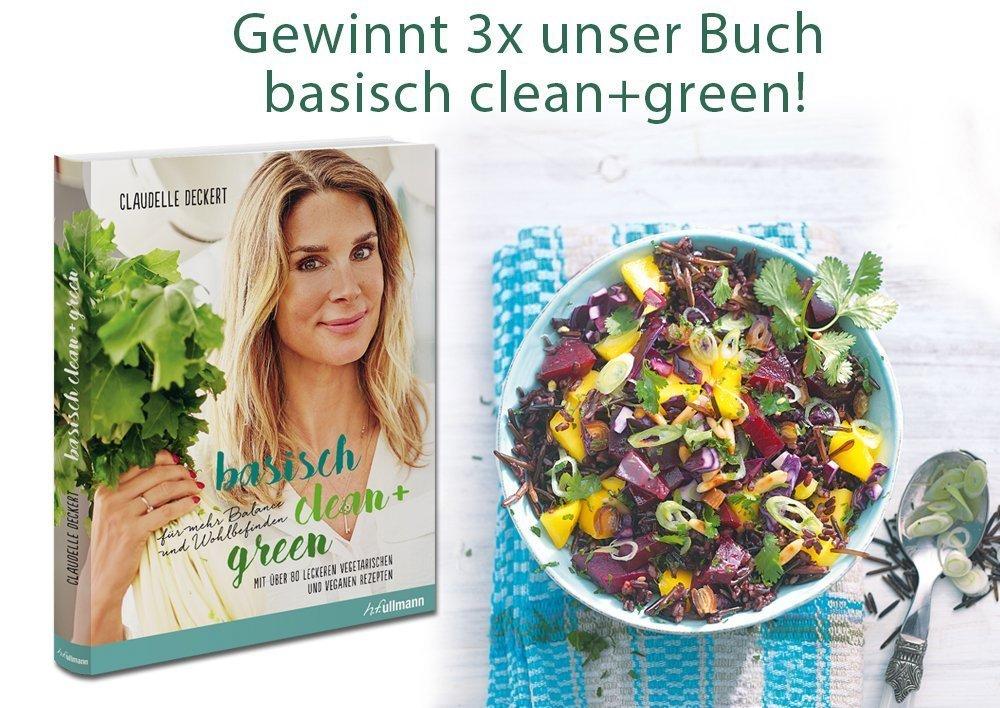 Gewinnt 3x unser Buch Basisch clean+green