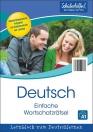 Lernblock: Deutsch – Einfache Wortschatzrätsel