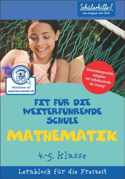 Lernblock: Mathe, 4.-5. Klasse