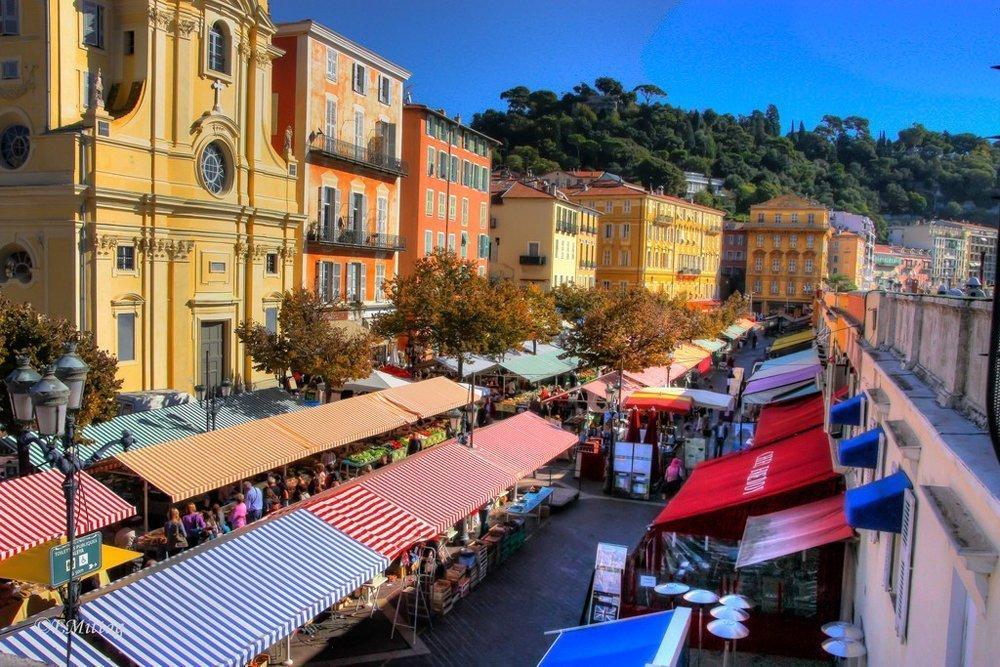 Der Markt in Nizza