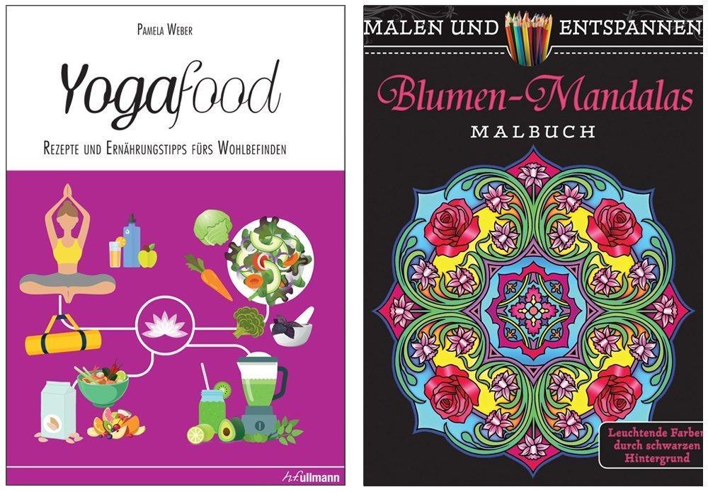 Buchpaket 1: Yogafood + Blumen-Mandalas
