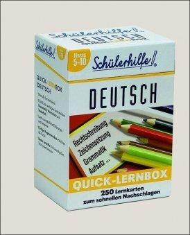 Quick-Lernbox: Deutsch, 5.-10. Klasse