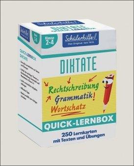 Quick-Lernbox: Diktate, 2.-4. Klasse