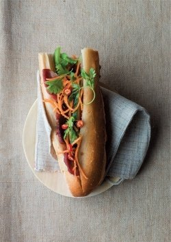 Sandwich auf vietnamesische Art