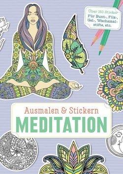 Ausmalen und Stickern: Meditation