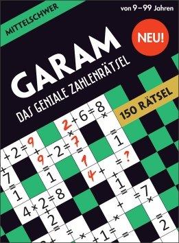 GARAM – Das geniale Zahlenrätsel – mittelschwer