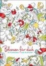 Postkarten zum Ausmalen -Blumen für dich