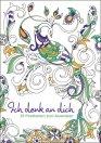 Postkarten zum Ausmalen - Ich denk an dich