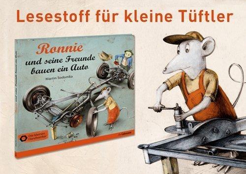 Ronnie und seine Freunde bauen ein Auto - Kinderbuch
