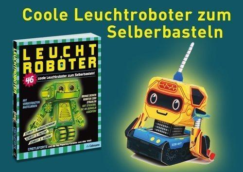 Roboter bauen- Leuchtroboter