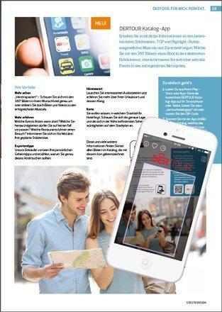 DERTOUR - Katalog App