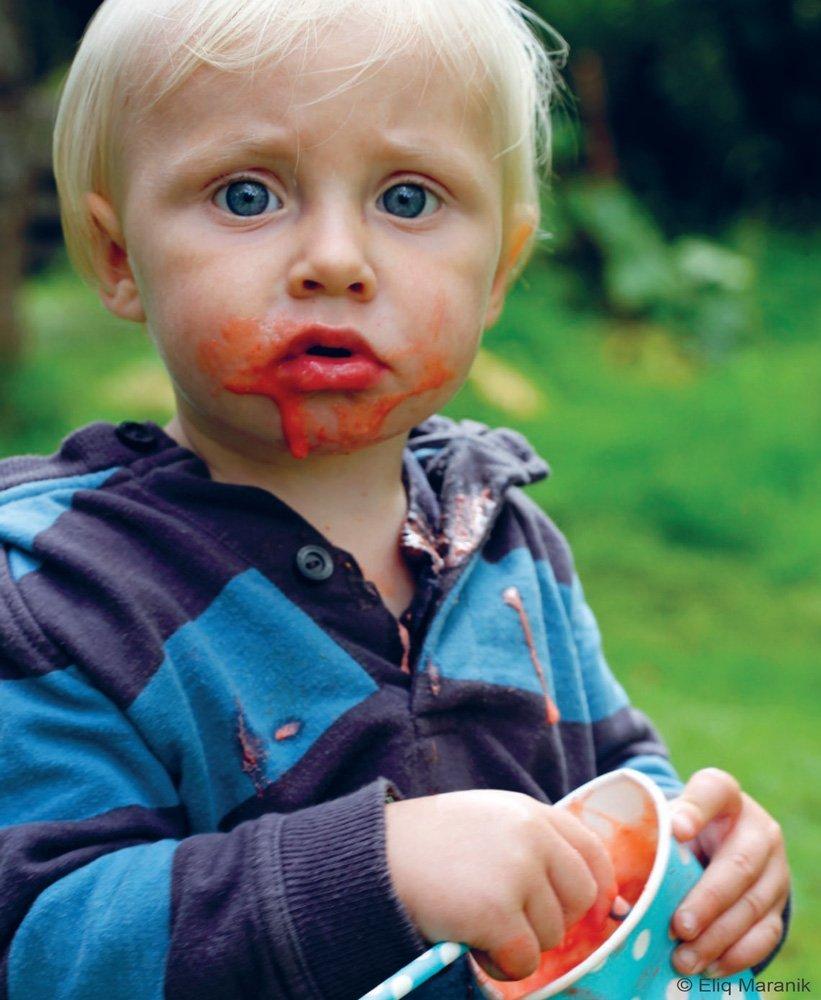 Himbeeren-Birne Smoothie für Kids - Rezepttip der Woche