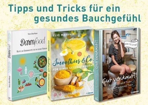 Bücher für einen gesunden Darm - Rezepte, Tipps und Tricks