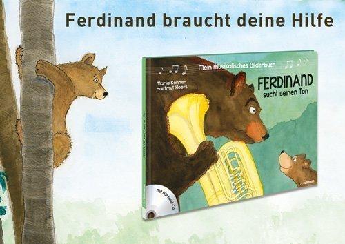 Ferdinand sucht seinen Ton - Musikalisches Bilderbuch