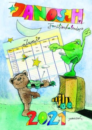 Janosch Familienkalender 2021