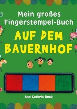 Fingerstempeln: Auf dem Bauernhof
