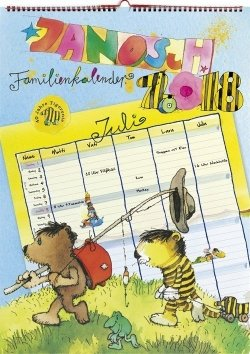 Janosch Familienkalender 2018