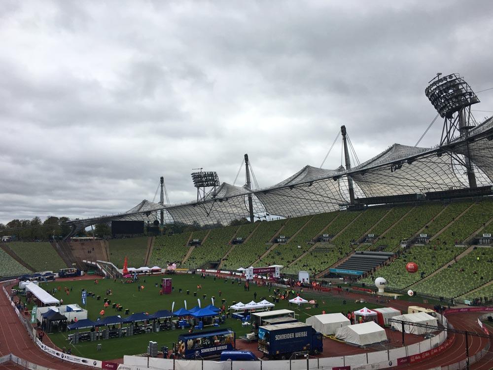 Olympiastadion München - Marathon