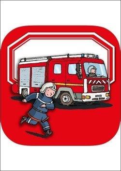 Kinderwissen Bücher mit kostenloser App - Feuerwehr