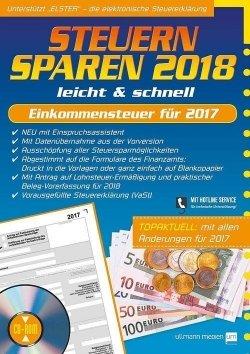 Steuern sparen 2018 leicht & schnell