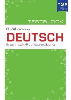 Testmappe: Deutsch Rechtschreibung & Grammatik, 3.-4. Klasse