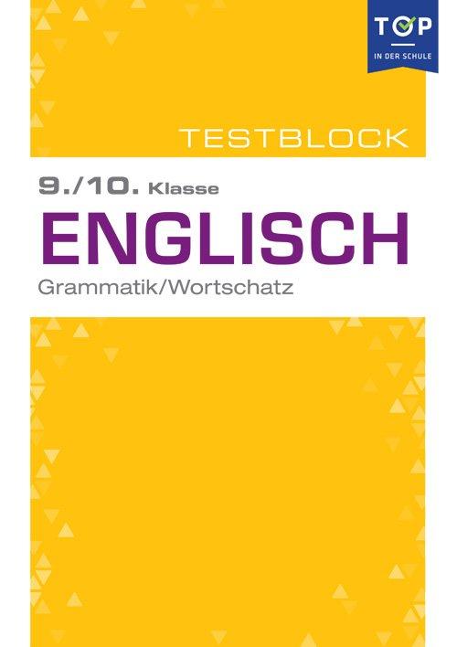 Testmappe: Englisch Grammatik & Wortschatz, 9.-10. Klasse - Buch ...