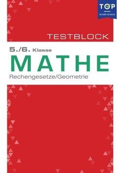 Testmappe: Mathe Rechengesetze & Geometrie, 5.-6. Klasse