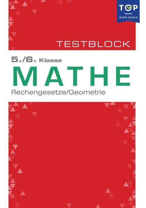 Testmappe: Mathe Rechengesetze & Geometrie, 5.-6. Klasse - Buch ...