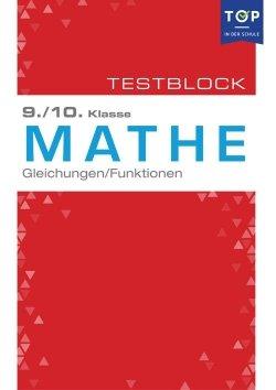 Testmappe: Mathe Gleichungen & Funktionen, 9.-10. Klasse