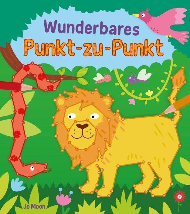 Kindermalbuch: Wunderbares Punkt-zu-Punkt