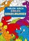 Malen nach Zahlen für Kinder: Dinosaurier