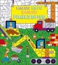 Kindermalbuch: Malen nach Zahlen - Fahrzeuge