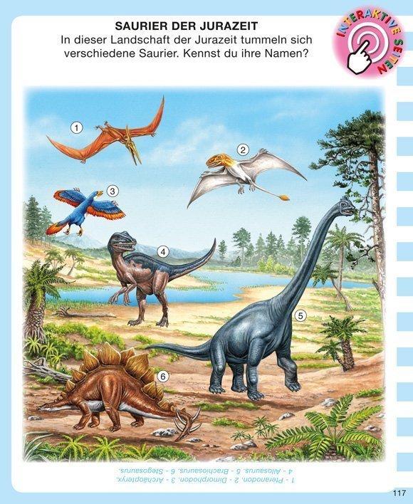 Kinderwissen mit App - Dinosaurier