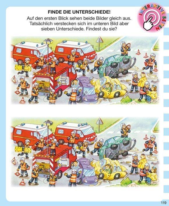 Kinderwissen mit App - Feuerwehr