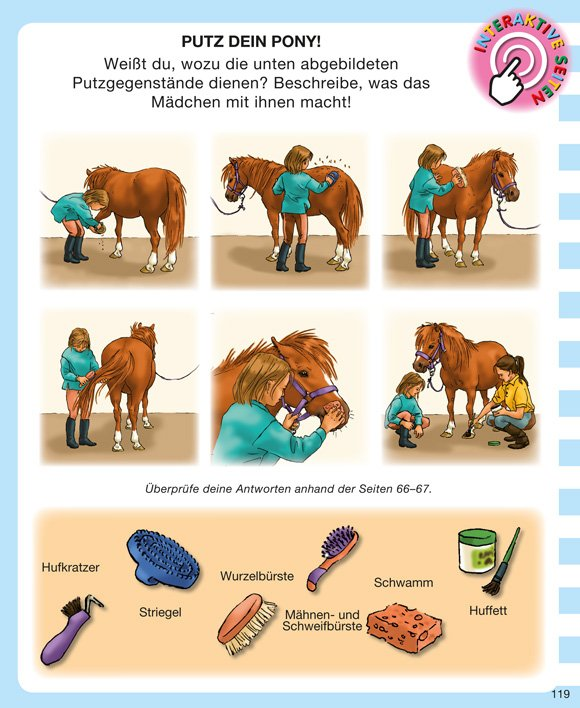 Kinderwissen mit App - Pferde