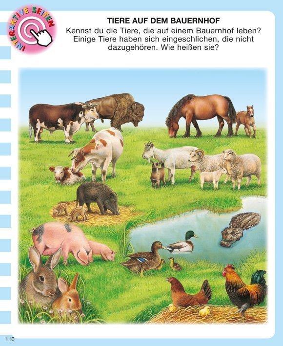 Kinderwissen mit App - Tiere