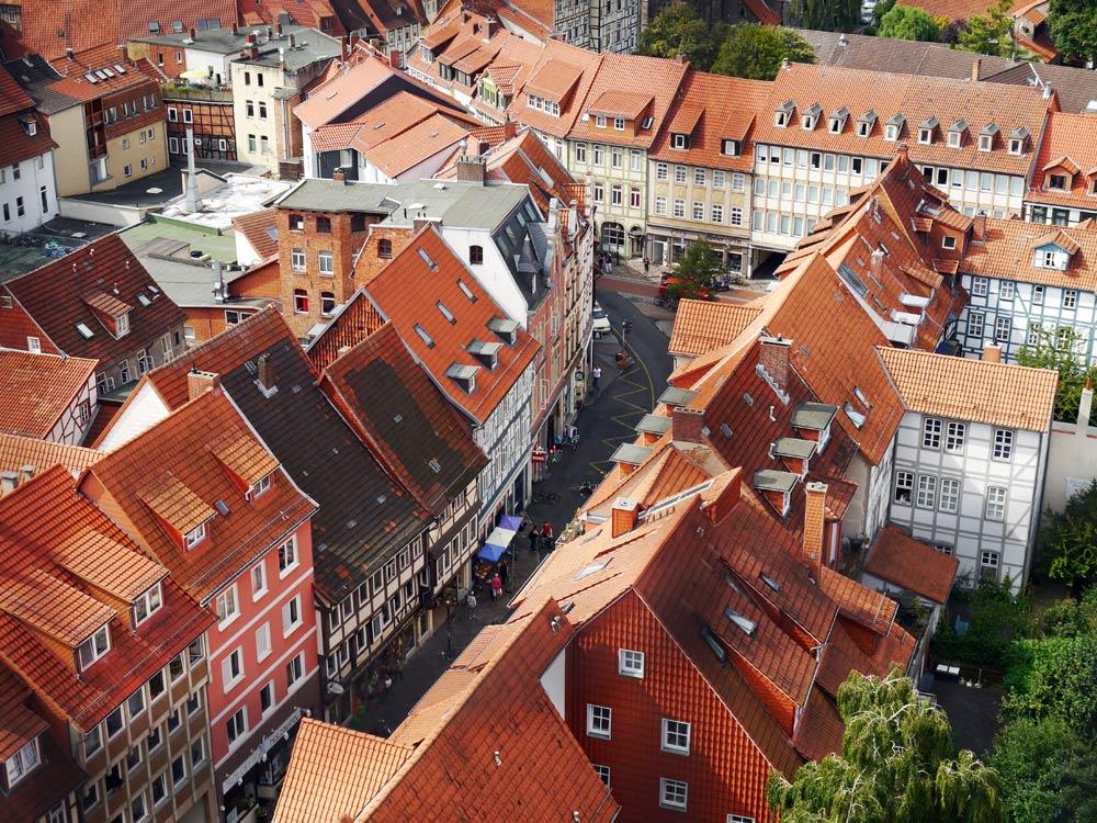 Über den Dächern von Göttingen
