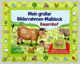 Bilderrahmen-Malblock: Bauernhof