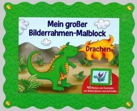 Bilderrahmen-Malblock: Drachen