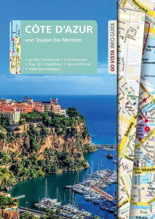 Go Vista Reisefuehrer Cote d´ Azur