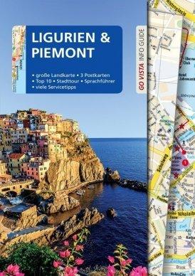 GO VISTA: Reiseführer Ligurien und Piemont